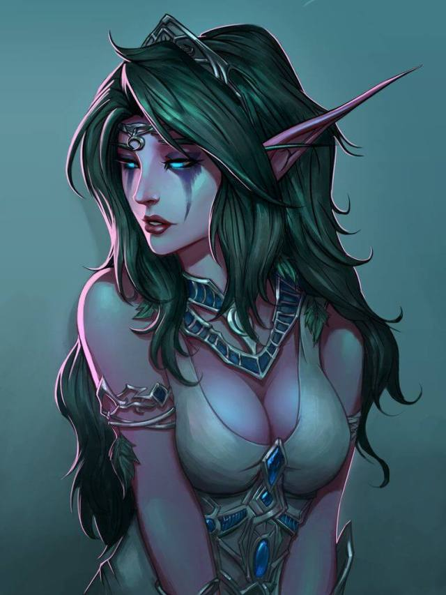 Tyrande sexy picture (2)