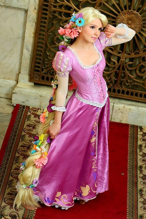 rapunzel awesome look