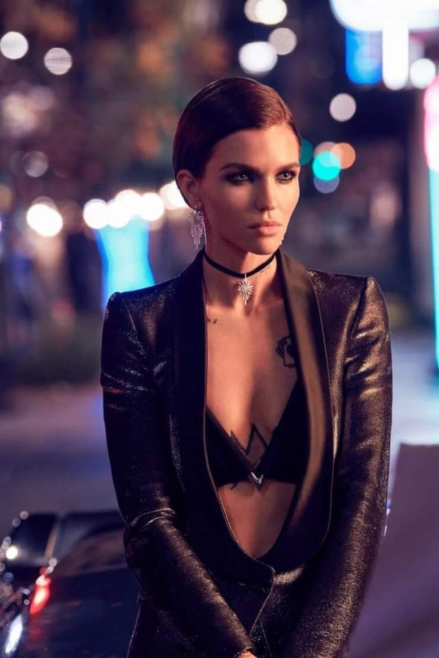 ruby rose cleavage pics