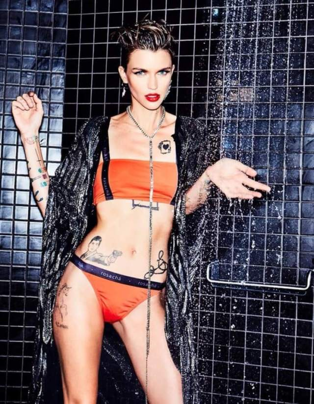 ruby rose near-nude pictures