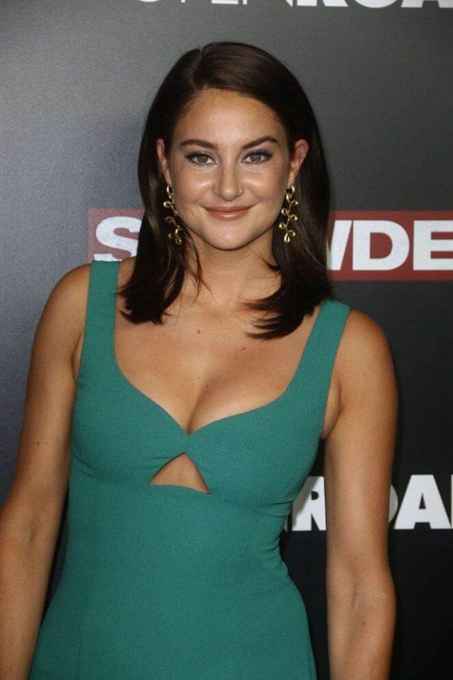 shailene woodley smile