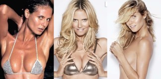 49 Sexy Heidi Klum Boobs Pictures Will Bring A Big Smile On Your Face