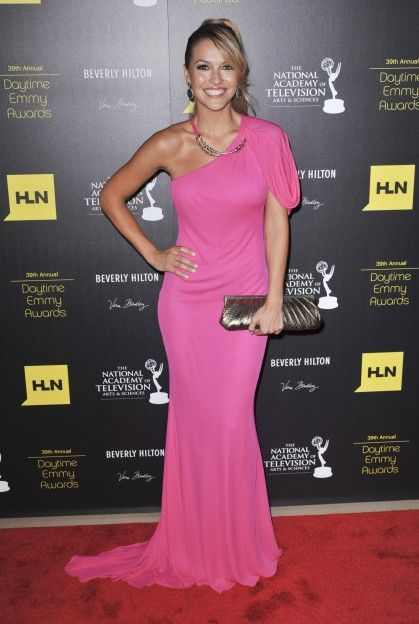 Chrishell Stause Hot in Pink Dress