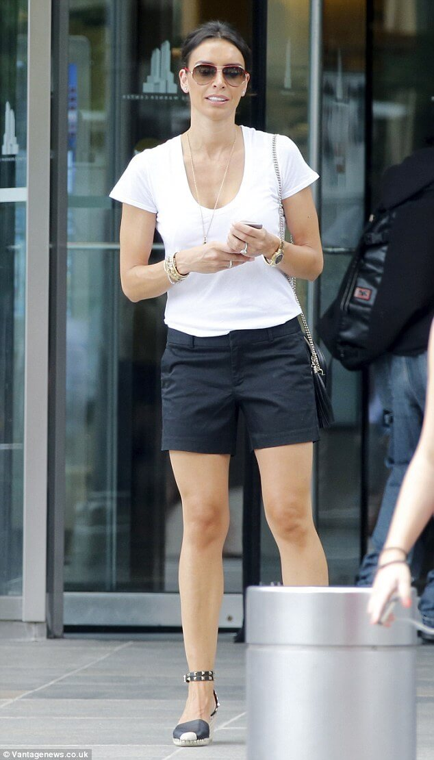 Christine Lampard awesome legs