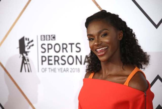 Dina Asher-Smith hot side pictures