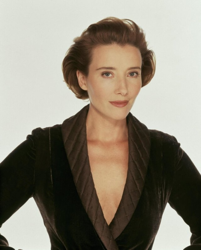 Emma Thompson sexy cleavage photos