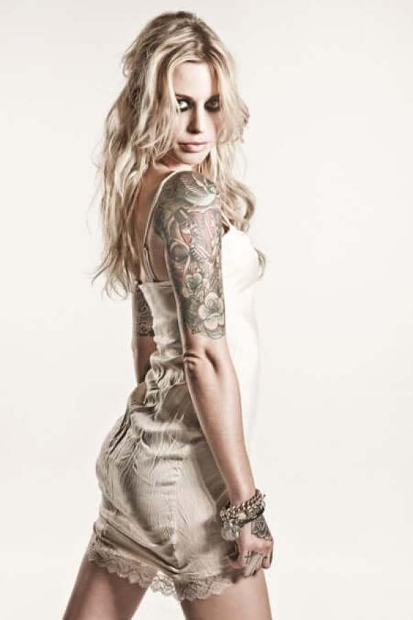 Gin Wigmore awesome butt