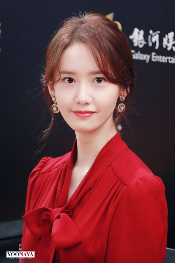 Im Yoona Hot in Red Dress