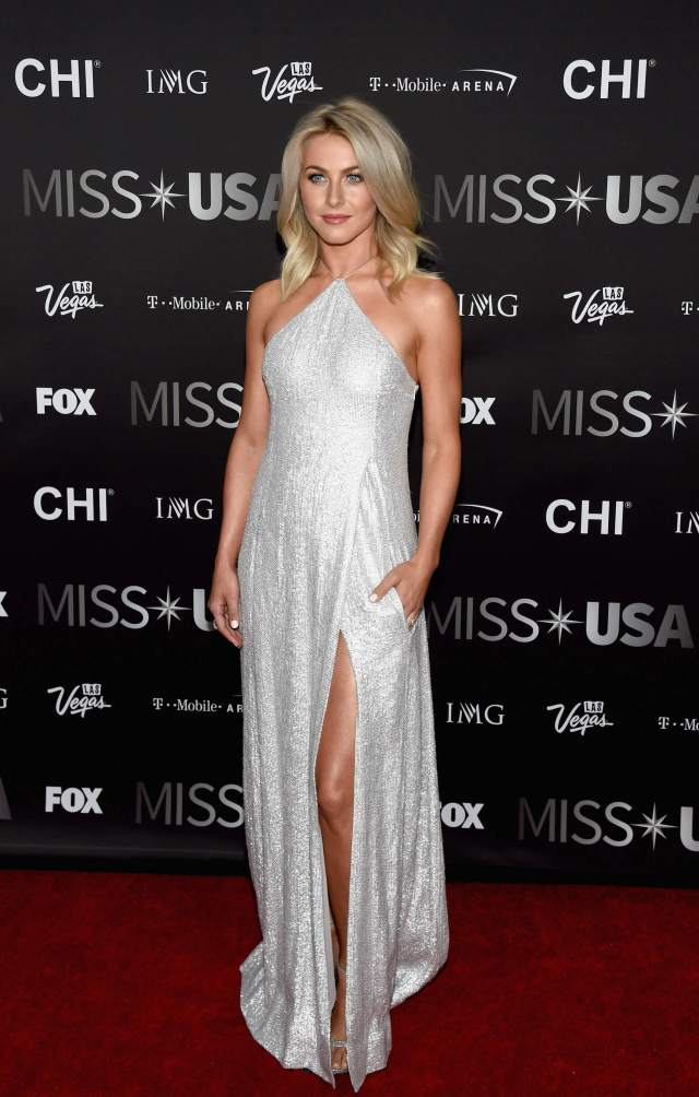 Julianne Hough sexy long dress pic