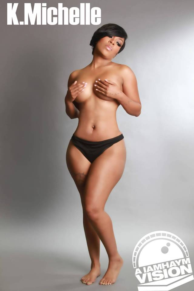 K. Michelle topless pic