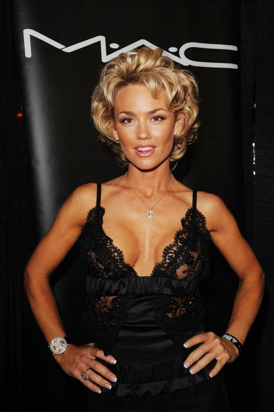 Kelly Carlson Hot in Black Dress