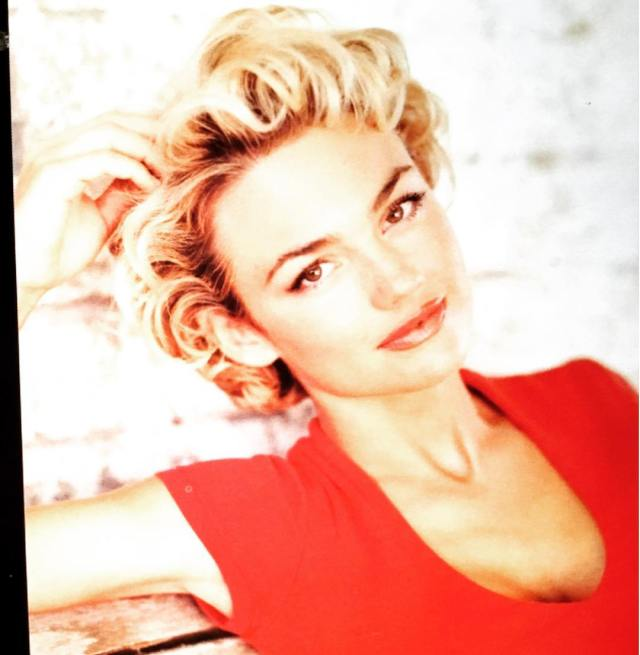 Kelly Carlson Hot in Red Dress