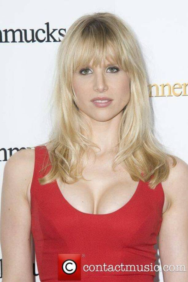 Lucy Punch sexy cleavage pic