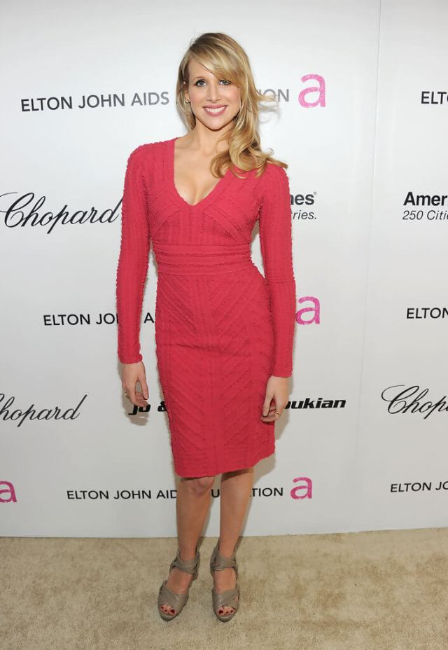Lucy Punch sexy tite dress