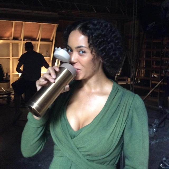 Madeleine Mantock awesome cleaavges pic
