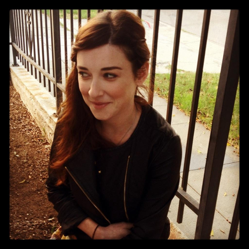 Margo Harshman Happy