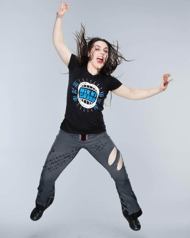 Nikki Cross awesome look