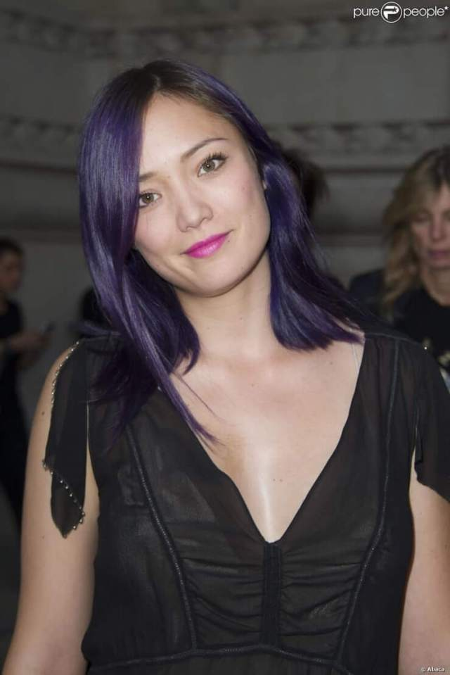 Pom Klementieff hot cleavage