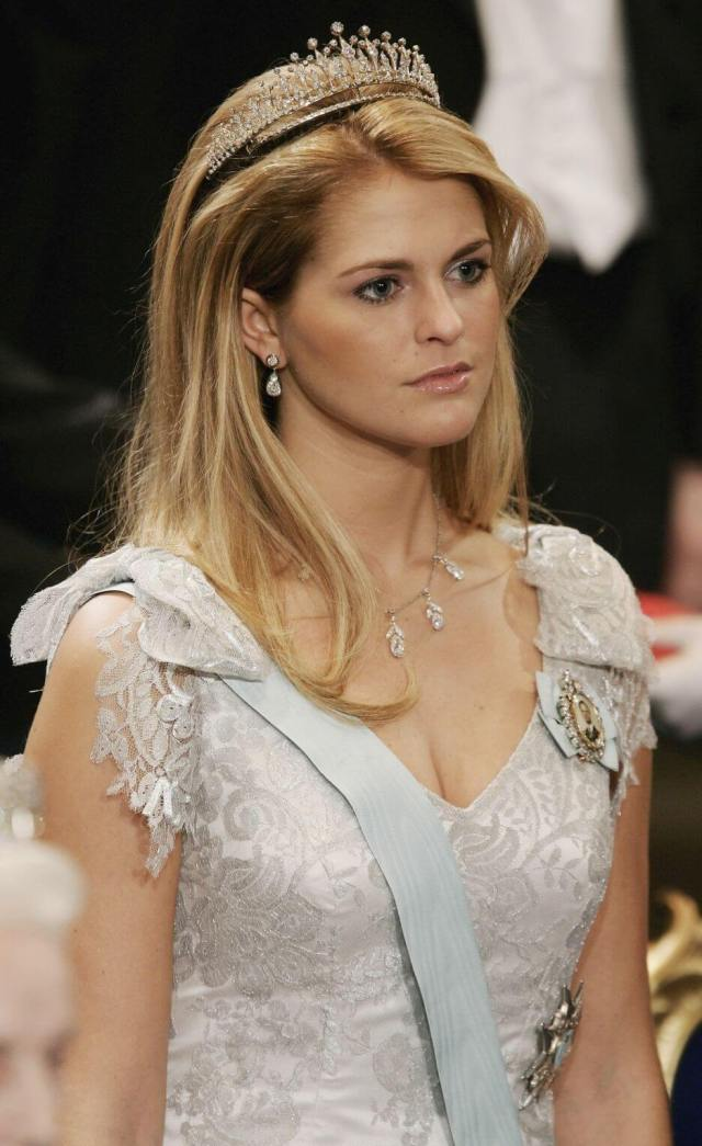 Princess Madeleine hot cleavages