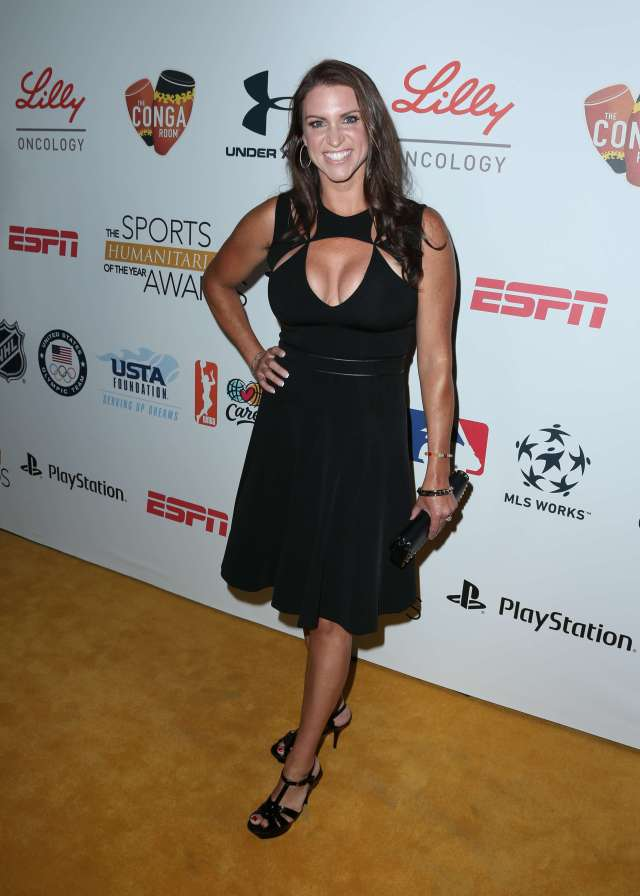 Stephanie mcmahon sexy cleavages pics