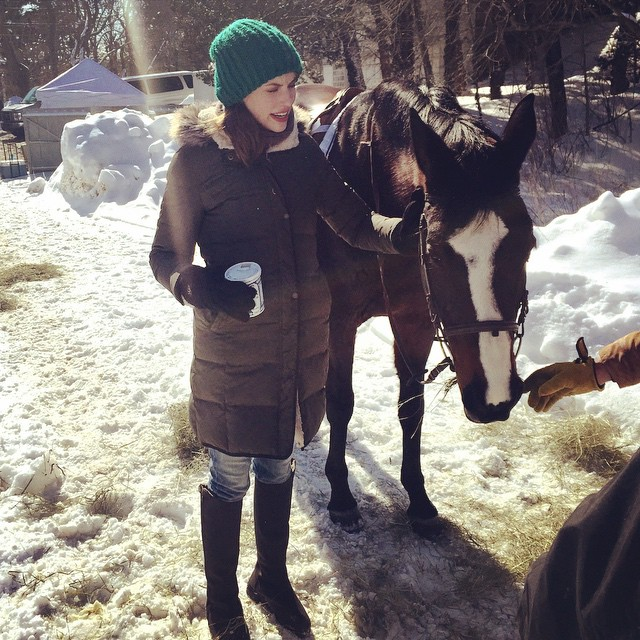 Wallis Currie-Wood Going For Horse Riding