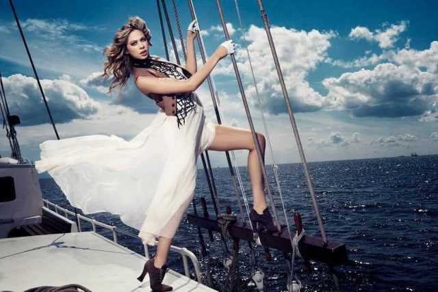 analeigh tipton on the boat