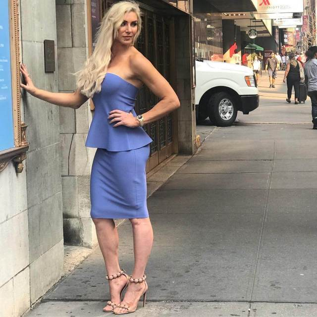 charlotte flair outdoor pics