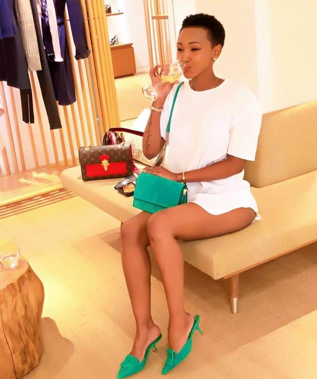huddah monroe thighs pictures