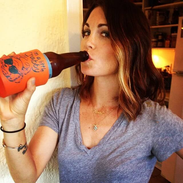 kate french drinking