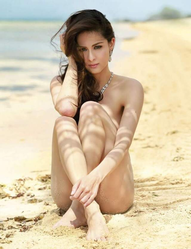 marian rivera near-nude