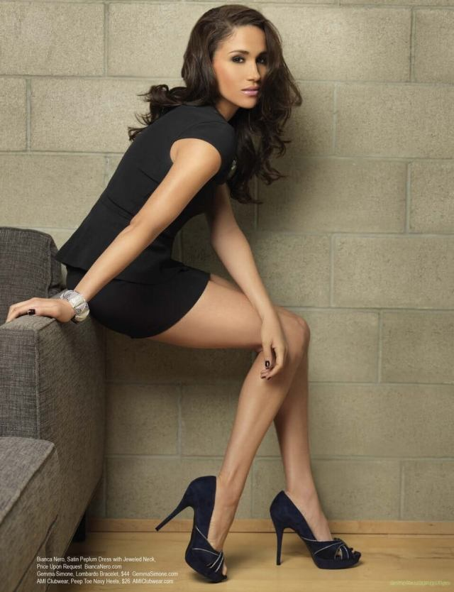 meghan markle hot legs pic