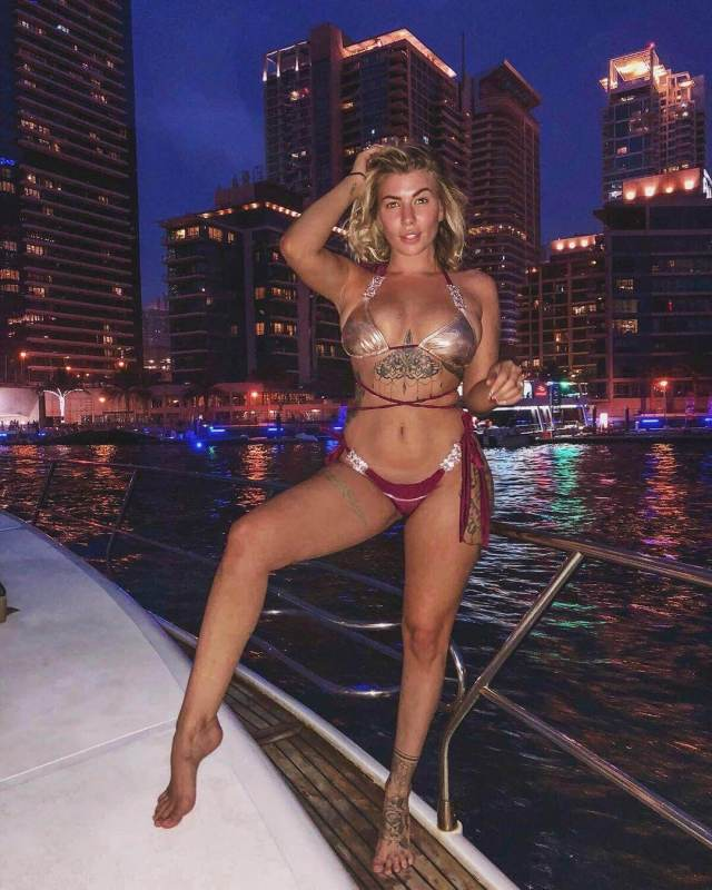 olivia buckland on the boat