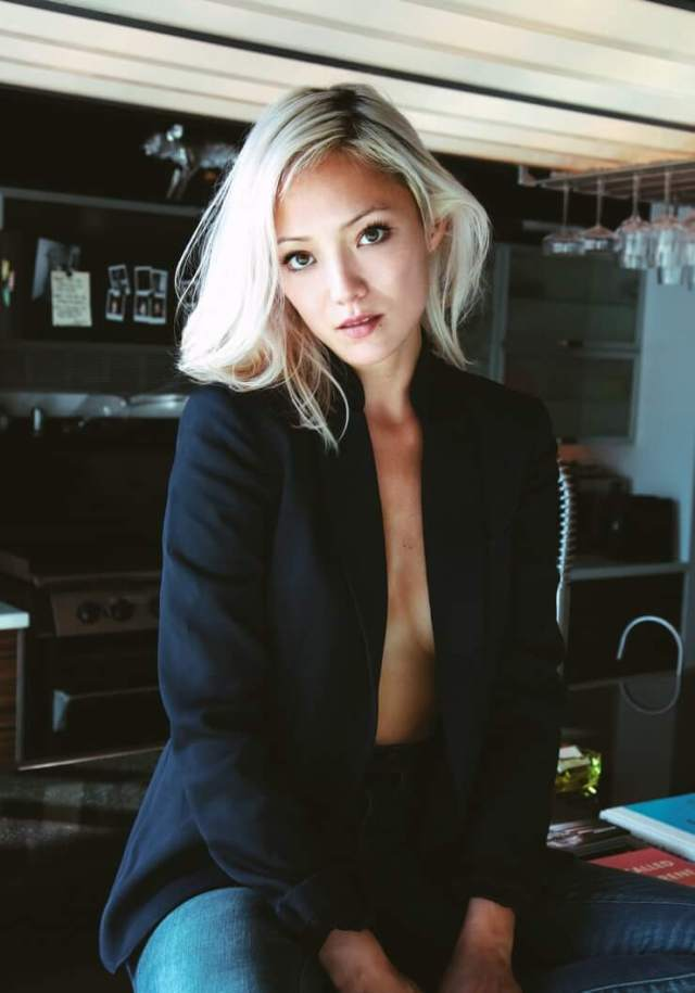 pom klementieff cleavage pics