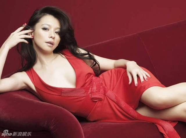 vivian hsu red dress
