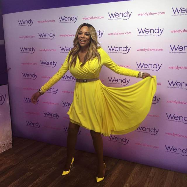 wendy williams yellow dress