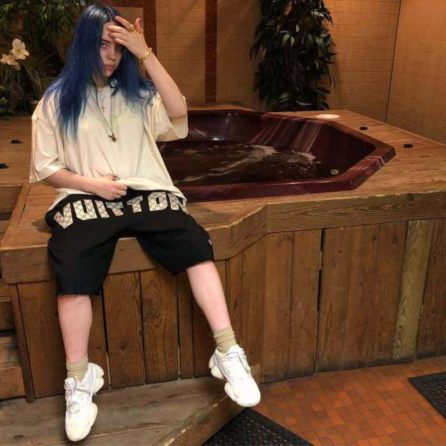 Billie Eilish hot legs