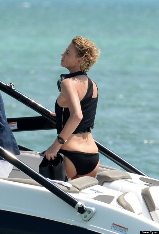 Charlize Theron butt pics