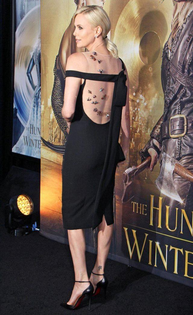 Charlize Theron sexy ass
