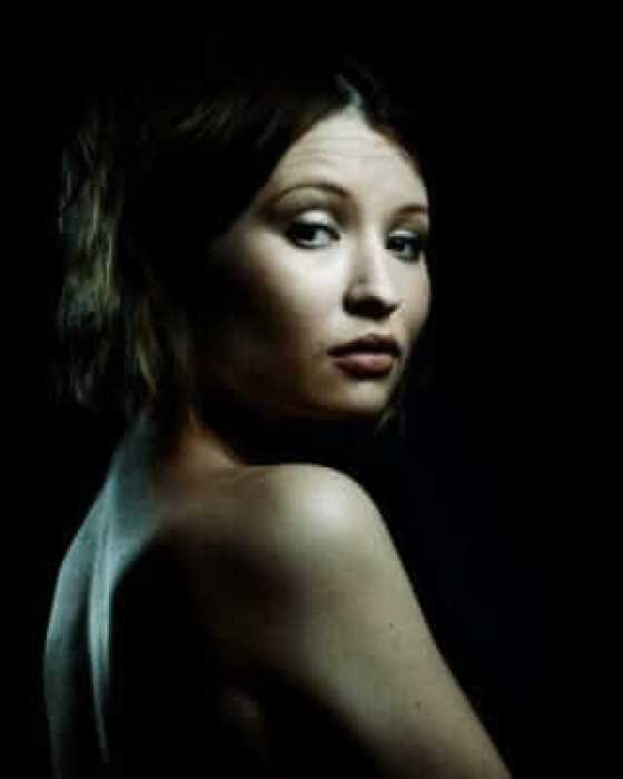 Emily Browning near nude picture