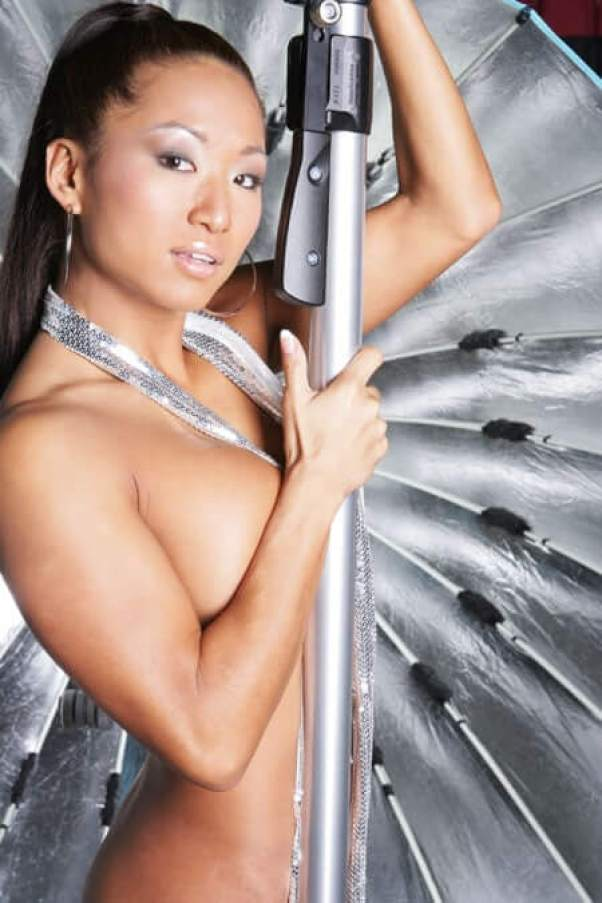 Gail Kim sexy topless pic