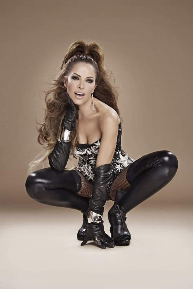 Gloria Trevi sexy side pictures