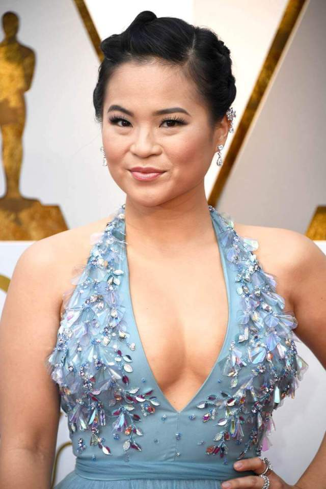 Kelly Marie Tran hot cleavage pic