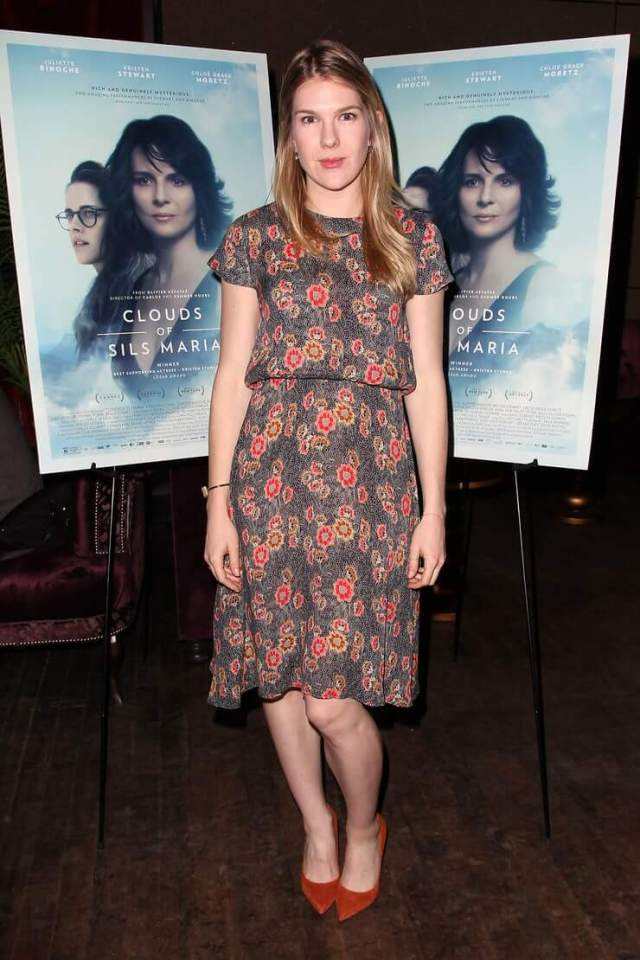 Lily Rabe hot legs