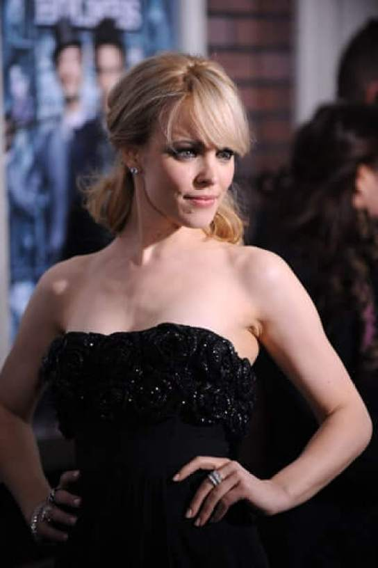 Rachel McAdams hot cleavage pics (2)