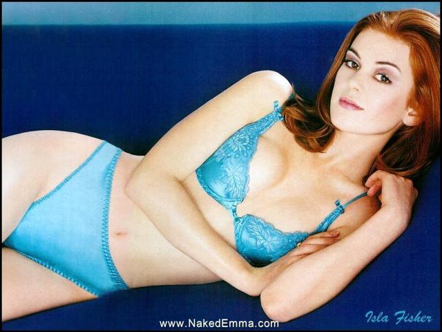 isla-fisher-blue dress
