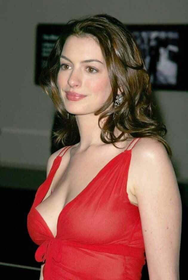 Anne Hathaway hot busty pictures