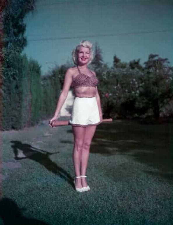 Betty Grable awesome