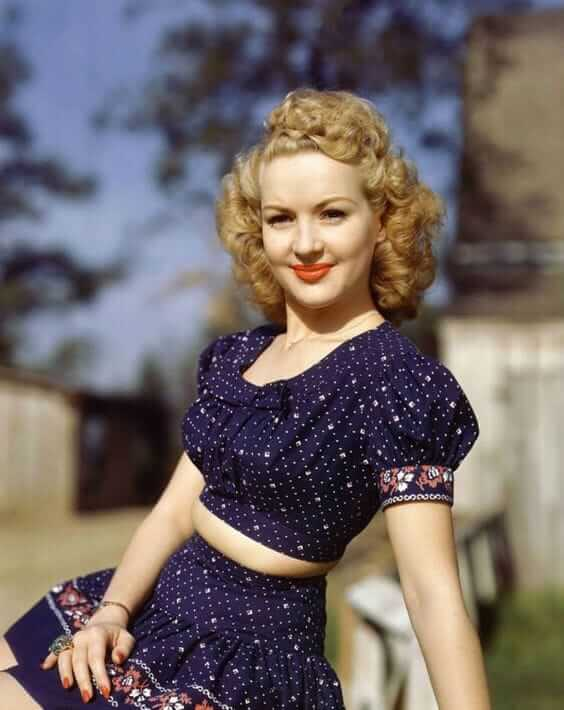 Betty Grable sexy picture