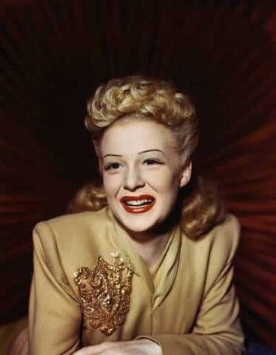 Betty Hutton beautiful pictures