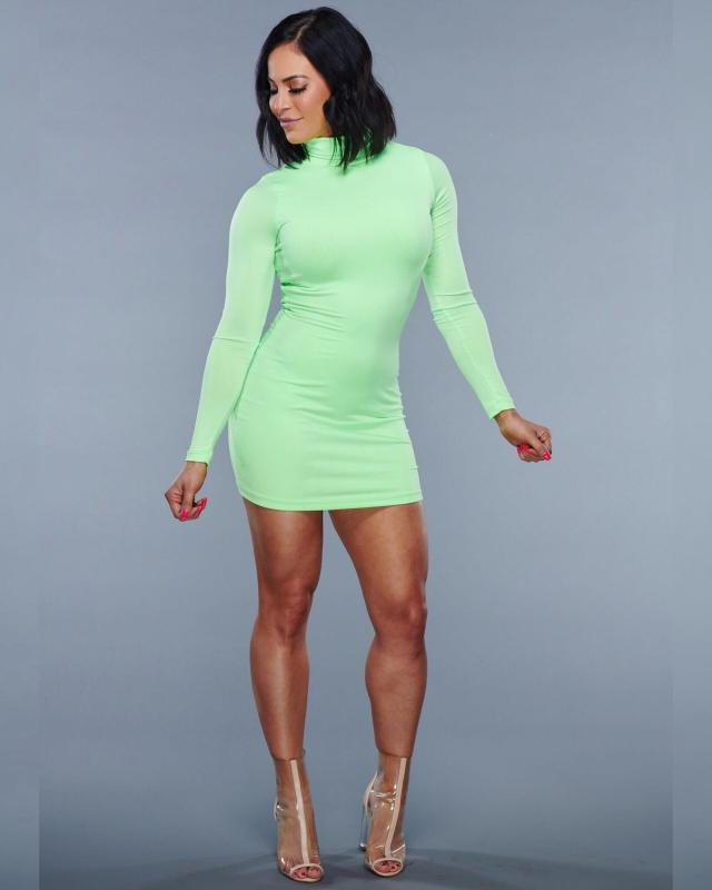 Charly Caruso sexy legs